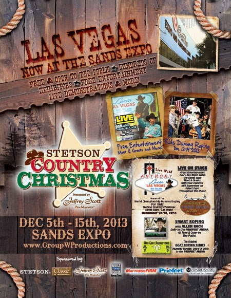 stetson country christmas 2013 bobbyboyddesigns - Country Christmas Las Vegas