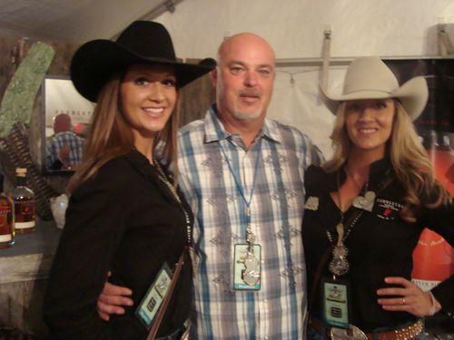 Bobby with the Pendleton Whisky Girls